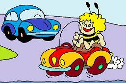 Майя и автомобиль