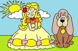 Принцесса и собака