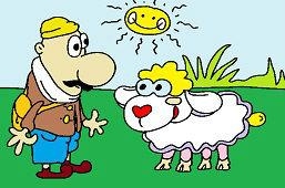 Пастух и овцa