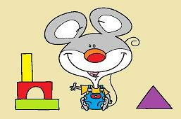 Мышь и строительные блоки