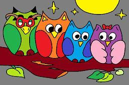 Четыре совы
