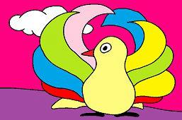 Пестрая птица