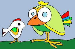 Две разные птицы