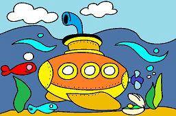 Жёлтая подводная лодка