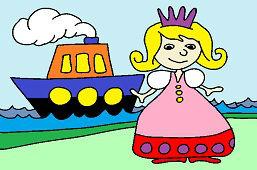Принцесса и корабль