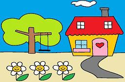 Дом с садом