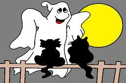 В ночь хэллоуина