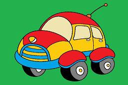 Автомобиль с антенной