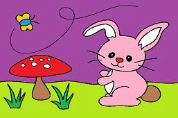 Кролик и ядовитый гриб