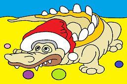 Крокодил и Рождество