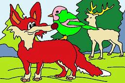 Красный лиса