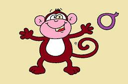 О как обезьяна