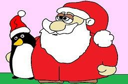 Дед Мороз и Пингвин