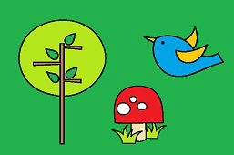 Птица и дерево