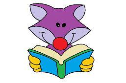 Фокс с книгой