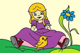 Алиса и цыплёнок