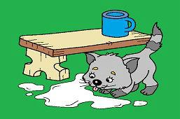 Пролитое молоко