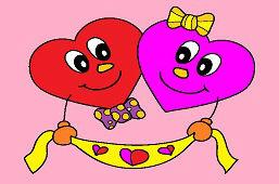 Две маленькие сердца