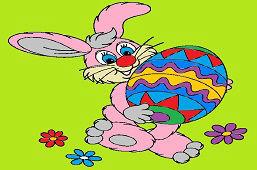 Заяц и большое яйцо