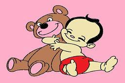 Медведь и ребёнок