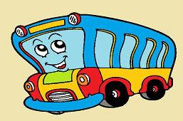 Улыбаясь автобус