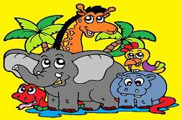 Животные из Африки