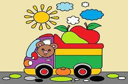 Медведь в грузовике