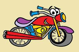 Веселый мотоцикл