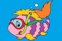 Рыба дайвер