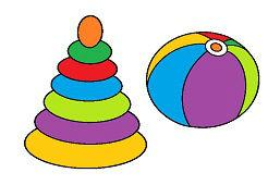Дерево игрушка и воздушный шар