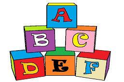 Кубики-алфавит