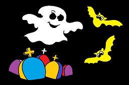 Хэллоуин призраки
