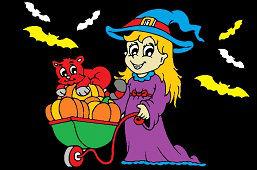 Хэллоуин мама