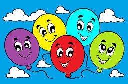 Весёлые шарики