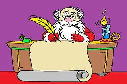 Санта-Клаус в офисе
