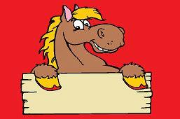 Этикетка – Лошадь