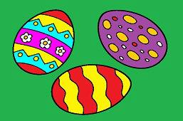 Три пасхальные яйца