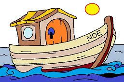 Ноев ковчег на море