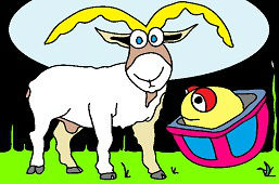 Рогатый козёл