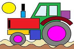 Агро трактор