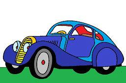 Аэро Спортивный автомобиль