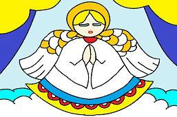 Ангел в окне