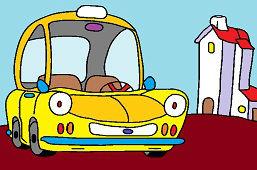 В городе с автомобилем
