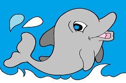 Mолодой дельфин