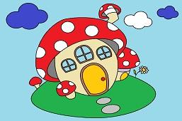 Грибной дом