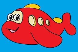 Красная подводная лодка