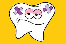 Грустный зуб