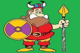 Викинг воин