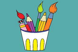 Краски и карандаши
