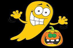 Призраки на Хэллоуин